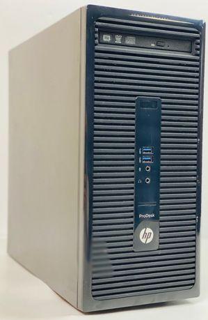 БУ Cистемный блок HP ProDesk 400 G2 MT Core i3-4130 8GB RAM 500GB HDD