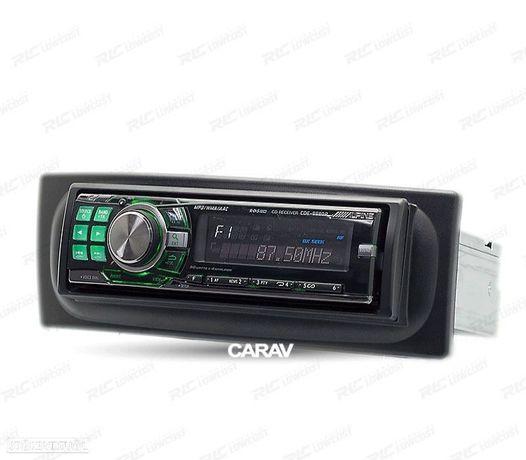 MOLDURA / ADAPTADOR PRETO PARA RADIO 1-DIN RENAULT MEGANE I SCENIC 96-03