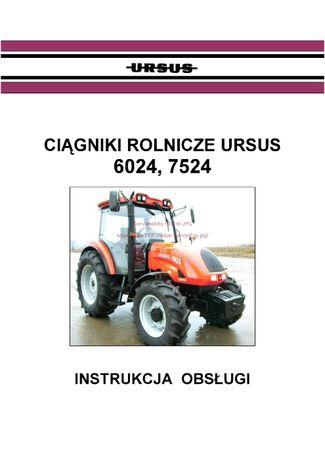 instrukcja obsługi ciągnika Ursus od 6024 do 7524