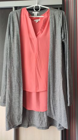 Блузка и кардиган Amisu, размер М/L