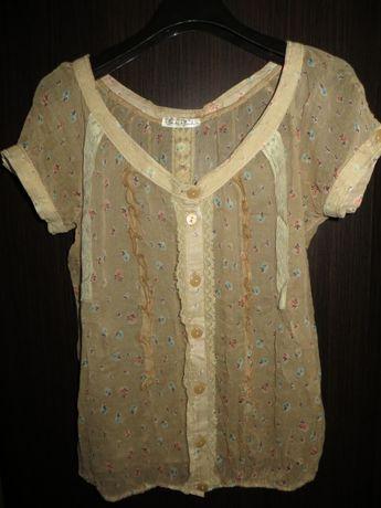 Очаровательная блуза Bouche-a-Bouche р. S Франция