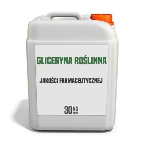 Gliceryna roślinna 99,9 % półpaleta 180 kg