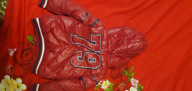 Куртка холодная осень 100-110 см