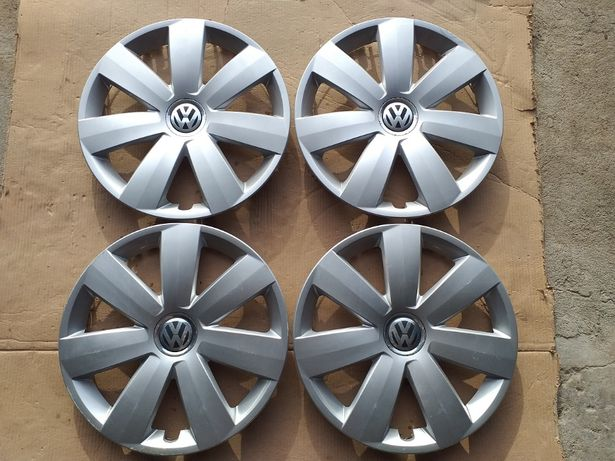 "Oryginalne Kołpaki Dekle 16"" VW Golf Sharan Passat Touran Caddy Nr.4"