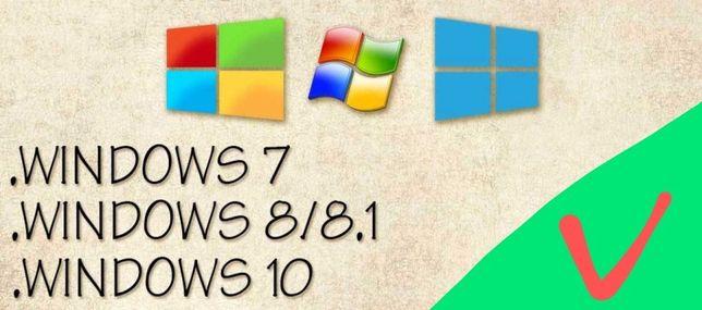 Ключ цифровой для активации windows -  выпуски 7, 8.1, 10 . Гарантия