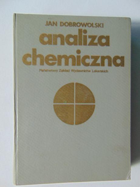Analiza chemiczna J. Dobrowolski