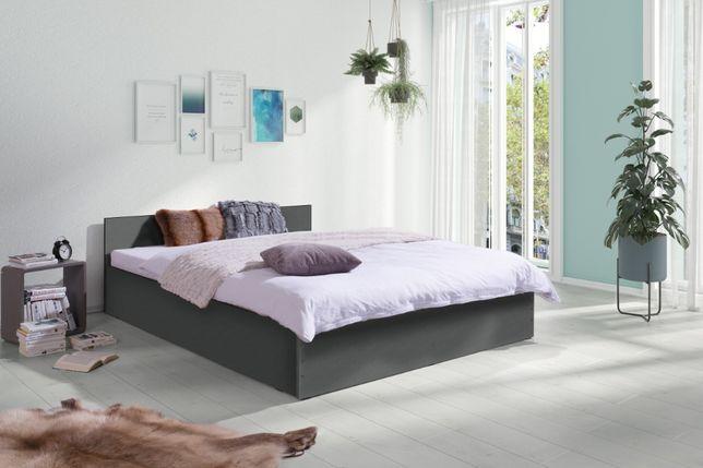 Nowe Łóżko do Sypialni z Materacem 160/200 Promocja 4 kolory