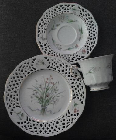 Conjunto Porcelana Burg Lindau