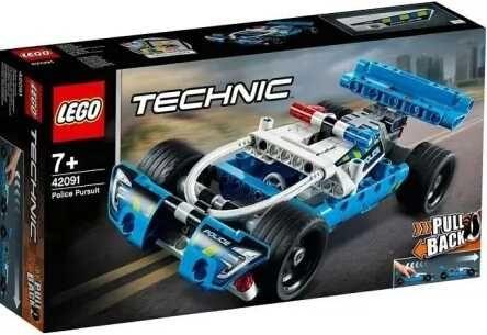 NOWE Lego Technic 42091 policyjny pościg.