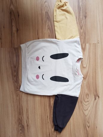 Bluza kappahl z króliczkiem r.92