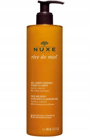 Nuxe Rêve De Miel ultrabogaty żel do twarzy i ciała 400 ml