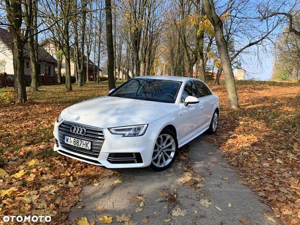 Audi A4 S Line FULL LED BEZWYPADKOWY Pierwszy Właściciel fvat