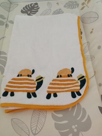 Ręcznik z kapturem do kąpieli