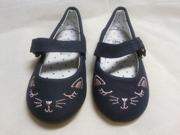 Туфли текстильные для девочки, р. 21, ТМ Cool Club