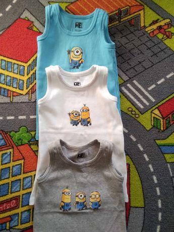 Podkoszulka koszulka Cool Club 98 /104 jak nowe Minionki