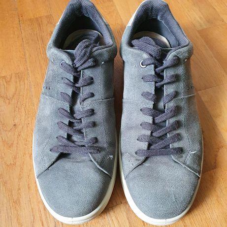 Niebieskie sneakersy firmy Ecco rozmiar 42