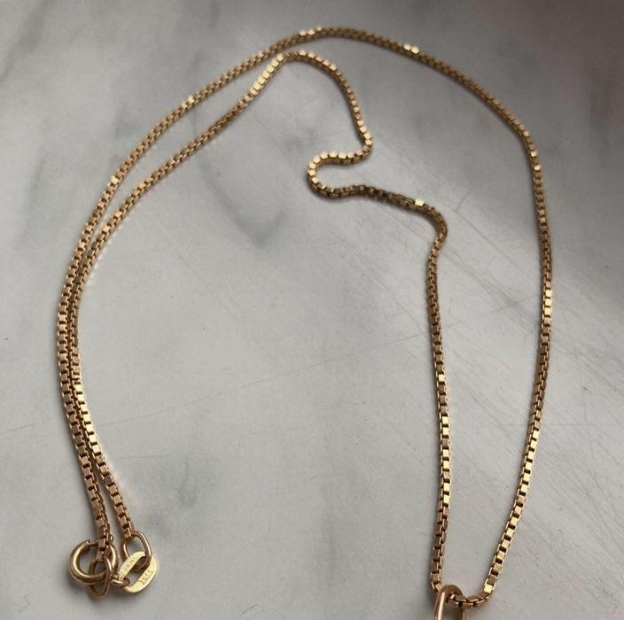 Gruby solidny łańcuszek kostka złoto 585 6g Kętrzyn - image 1