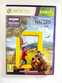 Kinect Nat Geo America the wild Xbox 360