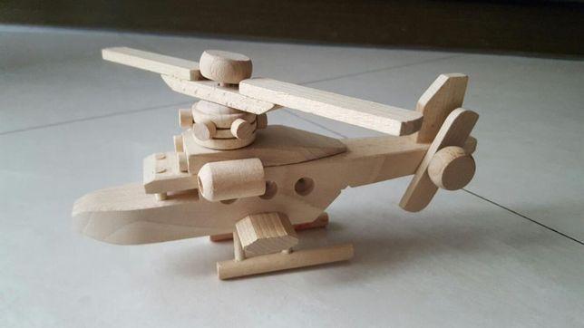 Helikopter drewniany jak nowy