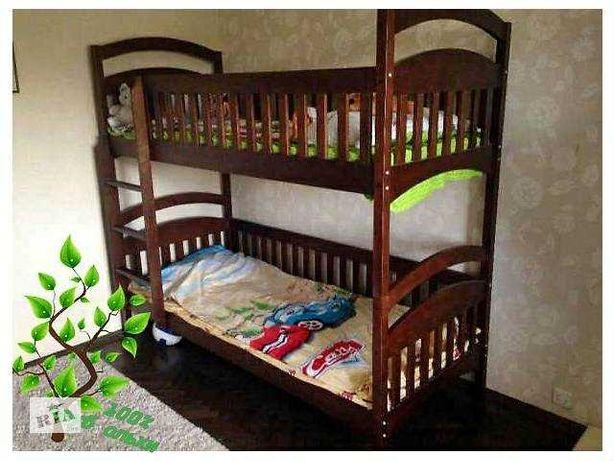 Захватывающее цены на двухъярусную кровать трансформер Карина