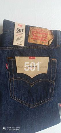 Spodnie meskie levi's 501 nowe W40 L30
