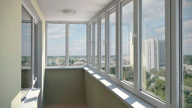 Окна и балконные рамы от фабрики