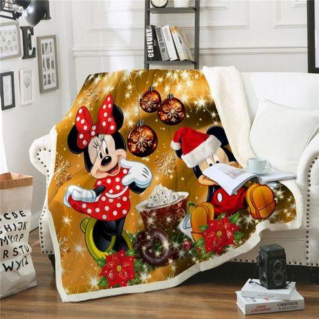Manta De Natal - (Minnie e Mickey)