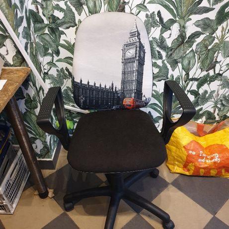 Fotel biurkowy obrotowy.