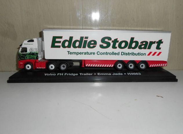 Модель фуры Eddie Stobart Oxford металл