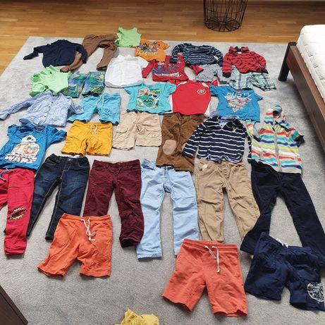 Ubranka dla chłopca 104 do 128
