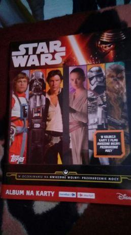 Sprzedam album i 26 kart Star Wars przebudzenie mocy