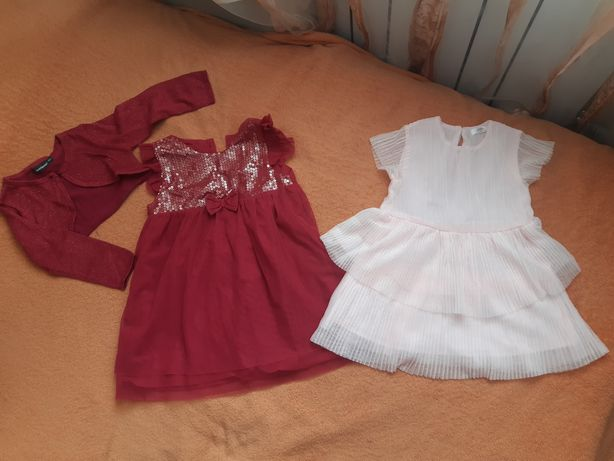 Нарядное платье сукня фатин пайетки болеро 86-92 см Pepco, in Extenso