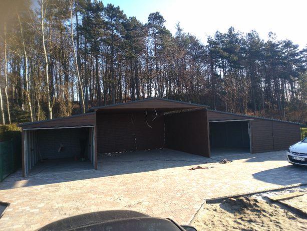 Garaż 16x5, wiata, garaże blaszane, hale