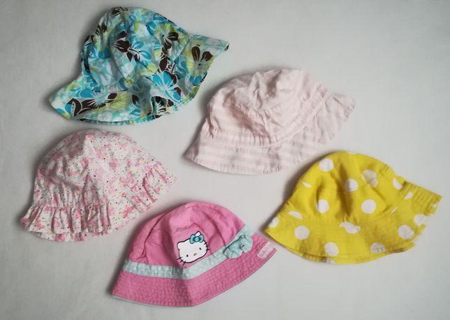 Letnie kapelusze przeciwsłoneczne dziewczynka 86 cm H&M wysyłka 1 zł