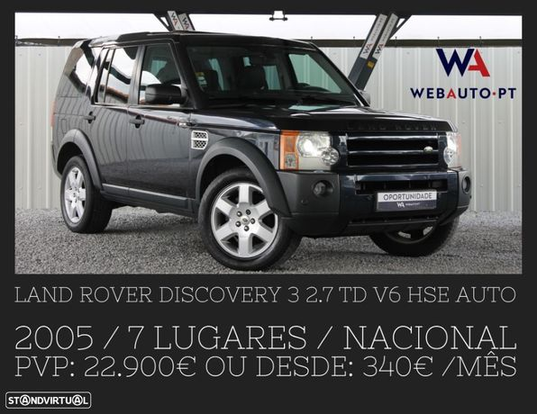Land Rover Discovery 3 2.7 TD V6 HSE Auto.