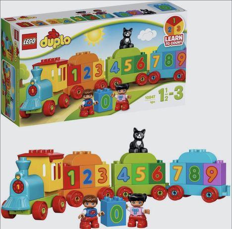 """Конструктор LEGO DUPLO 10847 Поезд """"Считай и играй"""""""