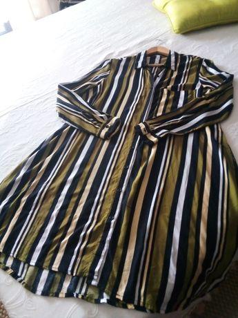 Vestido camiseiro
