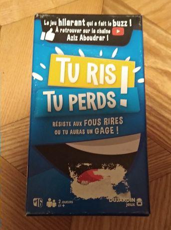 Gra Tu Ris, Tu Perds, francuskojezyczna