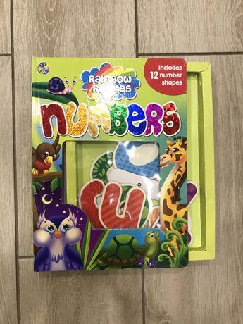 Книжка английский цыфры
