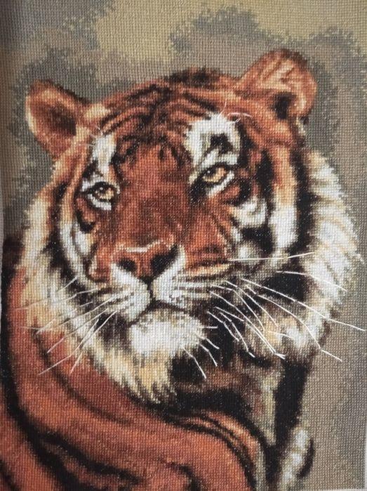 """Продам картину вишиту нитками ДМС """"Тигр"""" Надворная - изображение 1"""