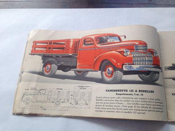 catalogo camioes Chevrolet 1941