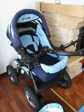 Wózek dziecięcy Cross ART-LUX BABY 3w1 - Rudna Mała