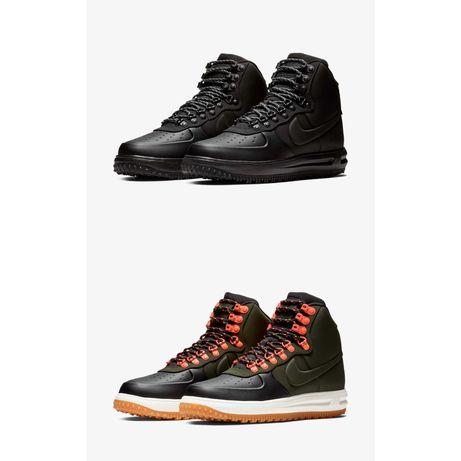 Кроссовки Nike Lunar Force 1 Duckboot 18 Black оригинал BQ7930 003 004