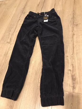 Spodnie sztruksowe CoolClub 152 Nowe