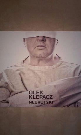 płyta cd ; olek klepacz neurotyki ; cena z przesyłką