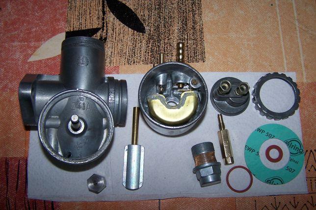 Junak U1 SHL24U1Osa U2 WSK 175 GM26U3 Oryg. gaźnik regeneracja Pegaz