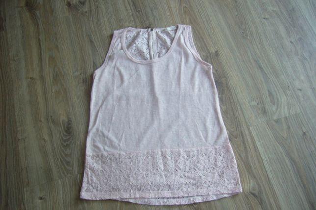 Różowa bluzeczka - koronka -R -XL/XXL
