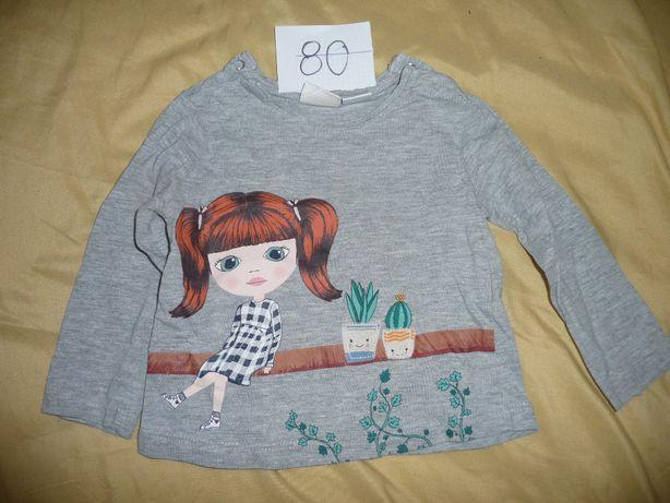 Sprzedam - bluzeczka dla dziewczynki rozm 80