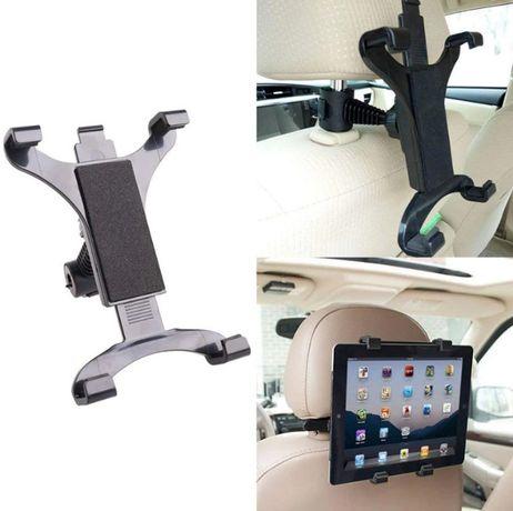 NOWY uchwyt tablet na zagłówek samochodowy DVD trzymak stojak regulowa