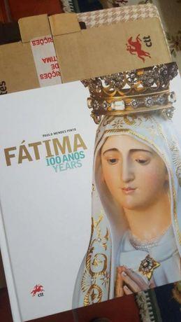 Livro Coleção Selos Fátima 100 anos years